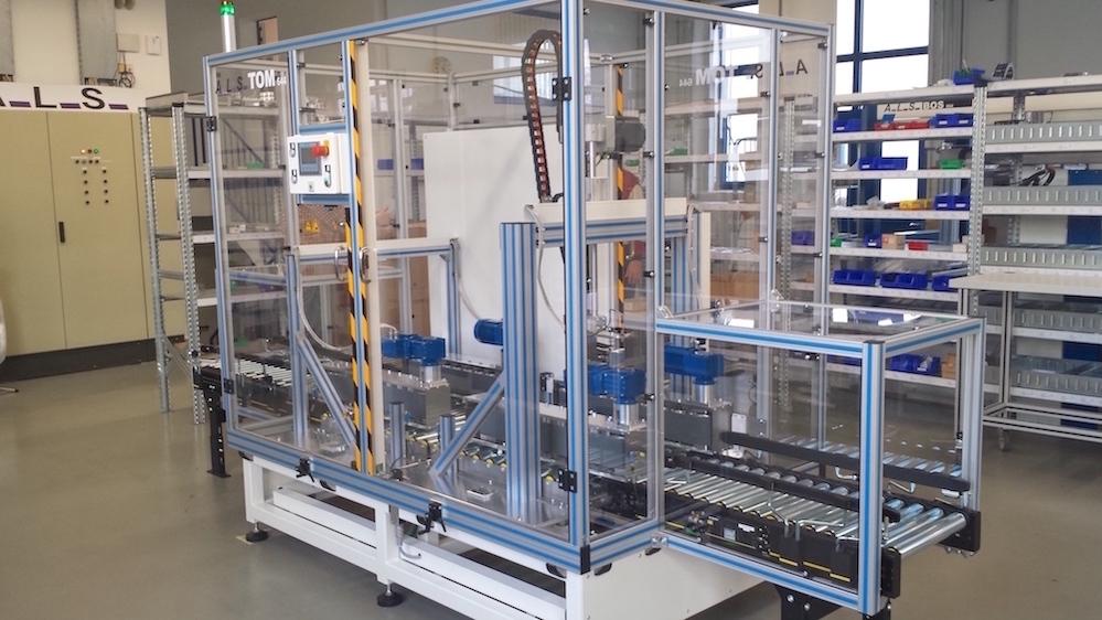 Das Gesamtsystem TOM Paket-Öffner für die Retouren Abteilung